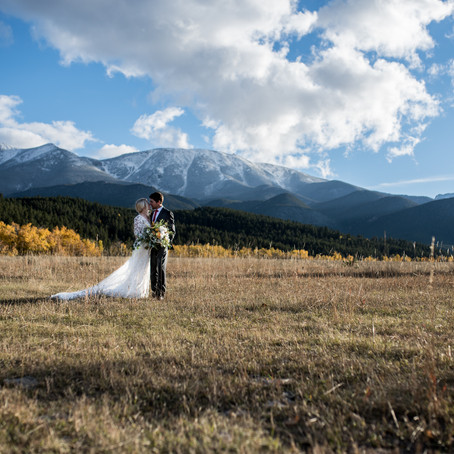 Vibrant Fall Micro-Wedding featured on Rocky Mountain Bride | Planning & Photography