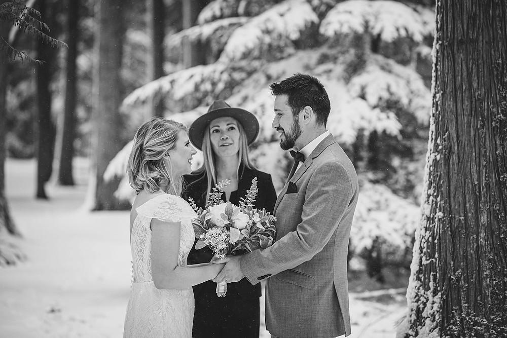 Montana elopement officiant