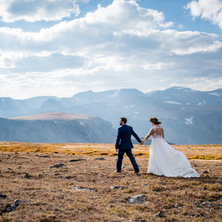 Kate & Adam | Beartooth Mountains Styled Elopement | Photography