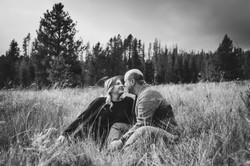 Georgetown Lake, Montana Engagement Photography