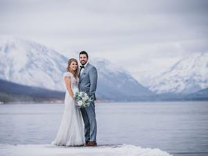 Snowy Glacier National Park Elopement
