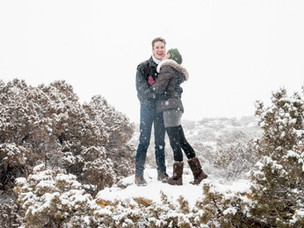 Emma and Dan | Pryor Mountains | Engagement