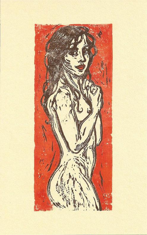 Linoldruck, Akt, roter Grund.jpg