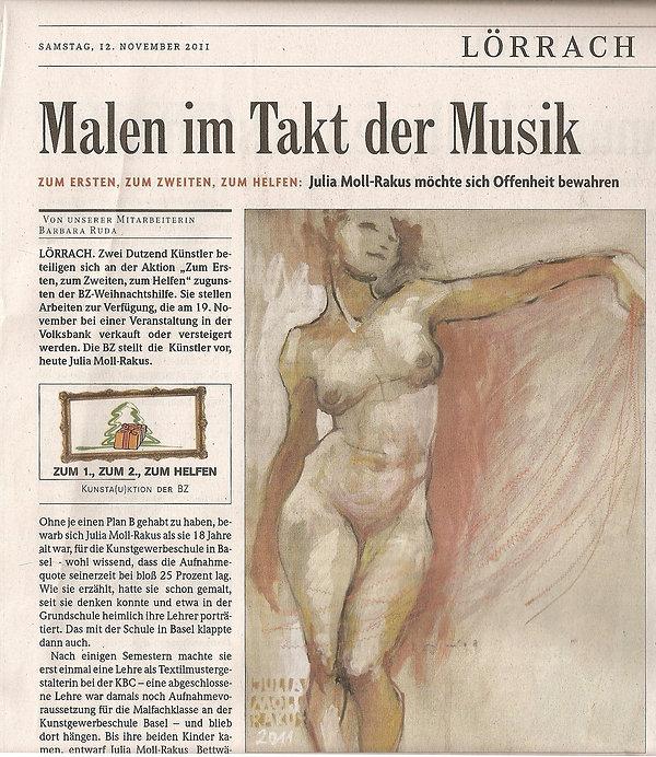 11.) 12.11.2011  Malen im Takt der Musik