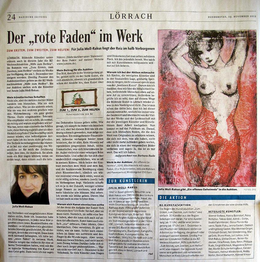 18.) 29.11.2012  Der rote Faden im Werk