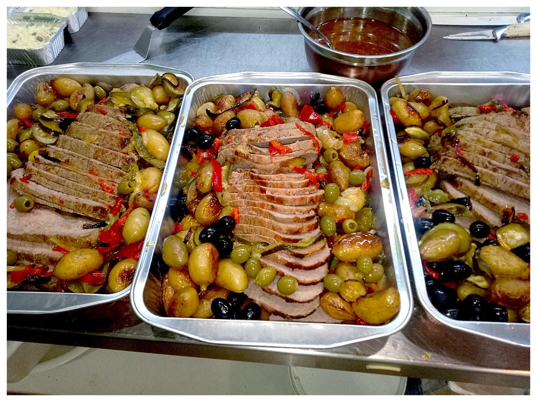 Rotis de Boeuf et ses legumes