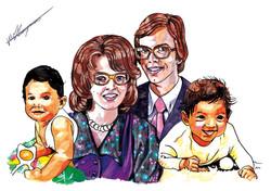Familieportret Sarita RGB