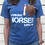 Thumbnail: Working Horses With Jim T-Shirt (Blue)