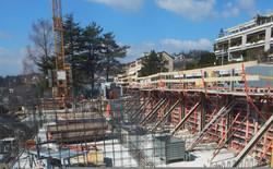 Construction d'un immeuble