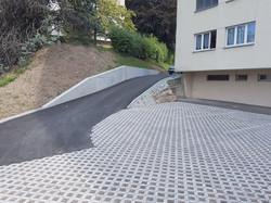 Création de places de parc