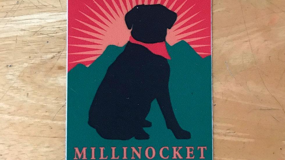 Dog Days Millinocket Decal