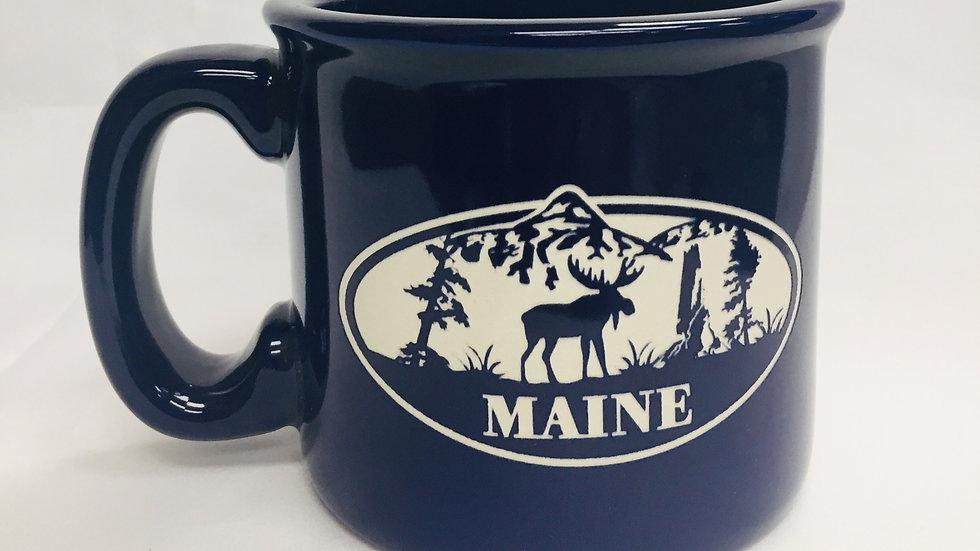 Maine Moose Blue