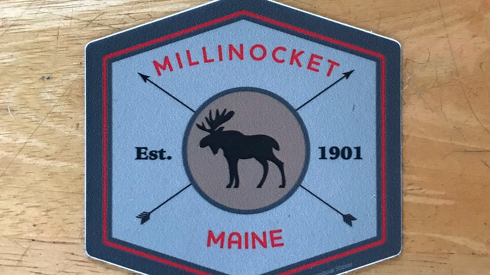 Millinocket Est. 1901 Decal