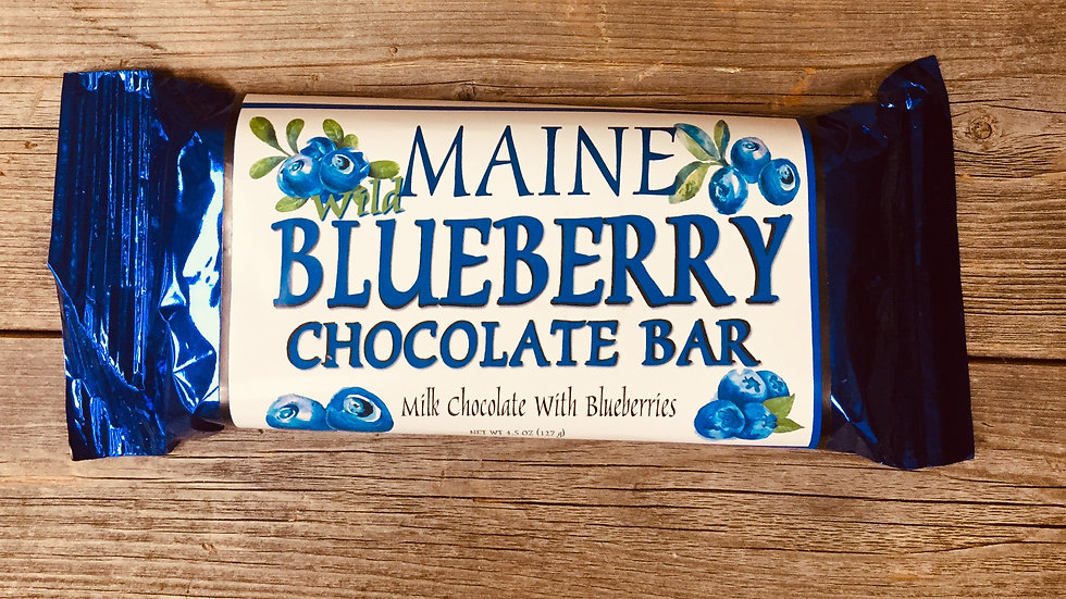 Maine Blueberry Chocolate Bar