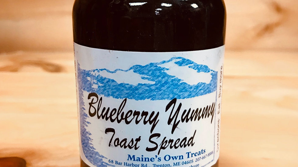 Blueberry Yummy Toast Spread!