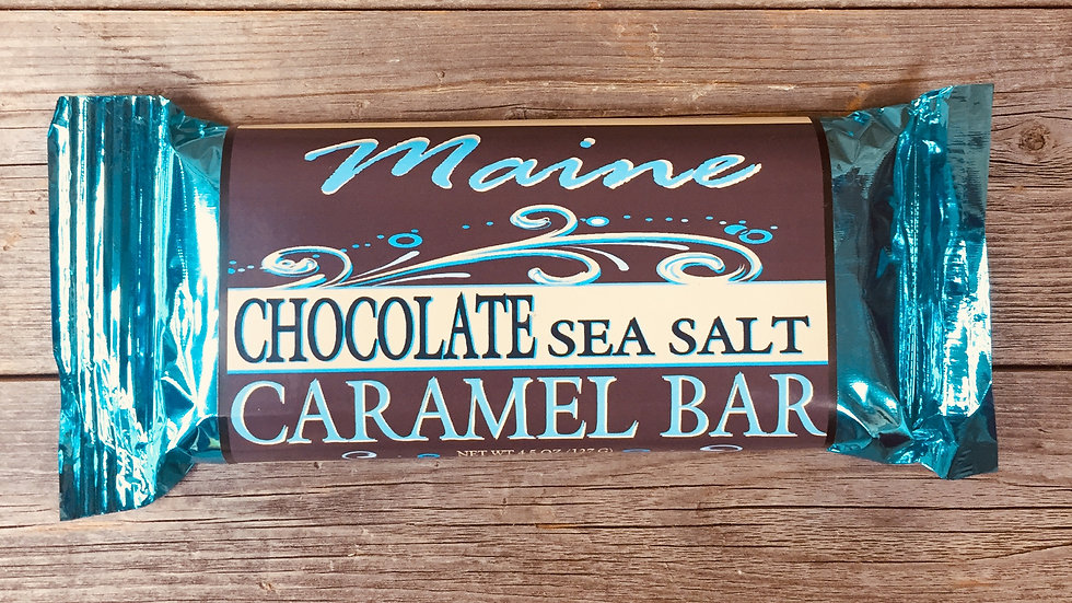 Chocolate Caramel Sea Salt Bar