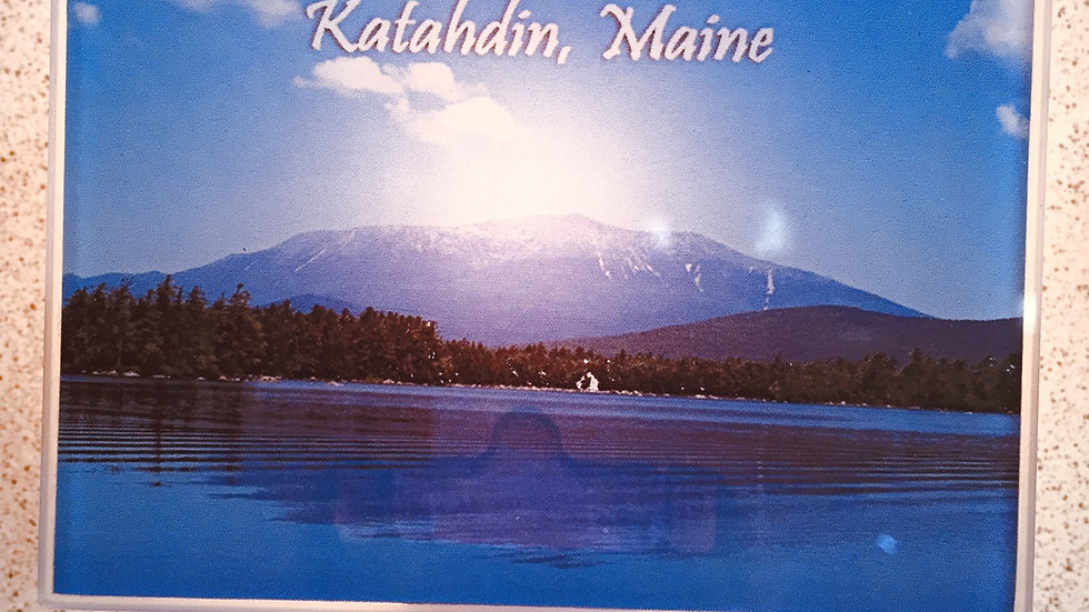 Glass Katahdin Nightlight