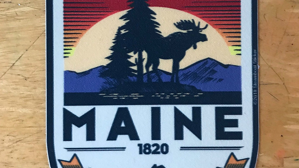 Pine Tree State Decal