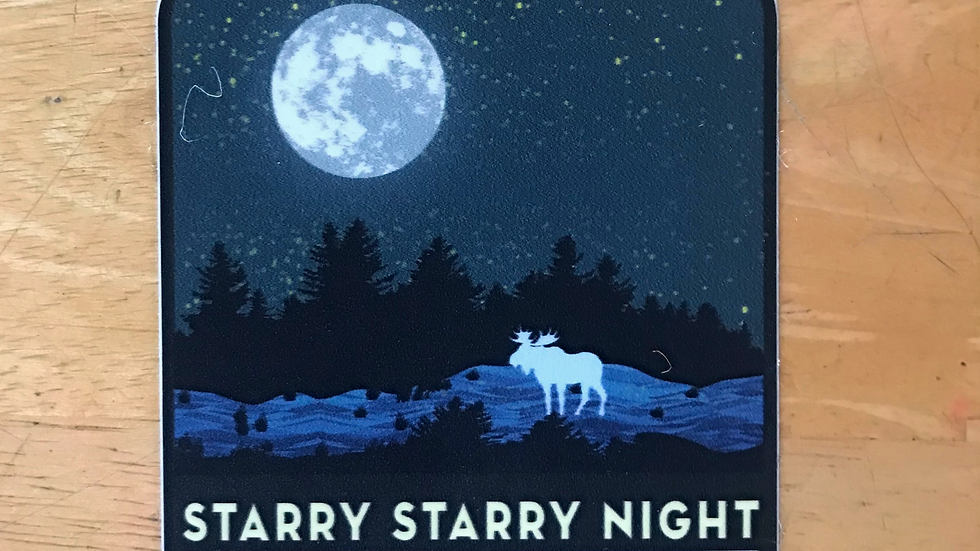 Starry Millinocket Night
