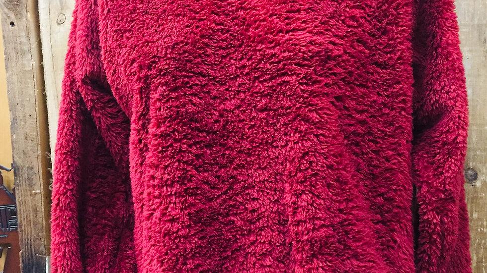Lone Rock Fleece/ Burgundy