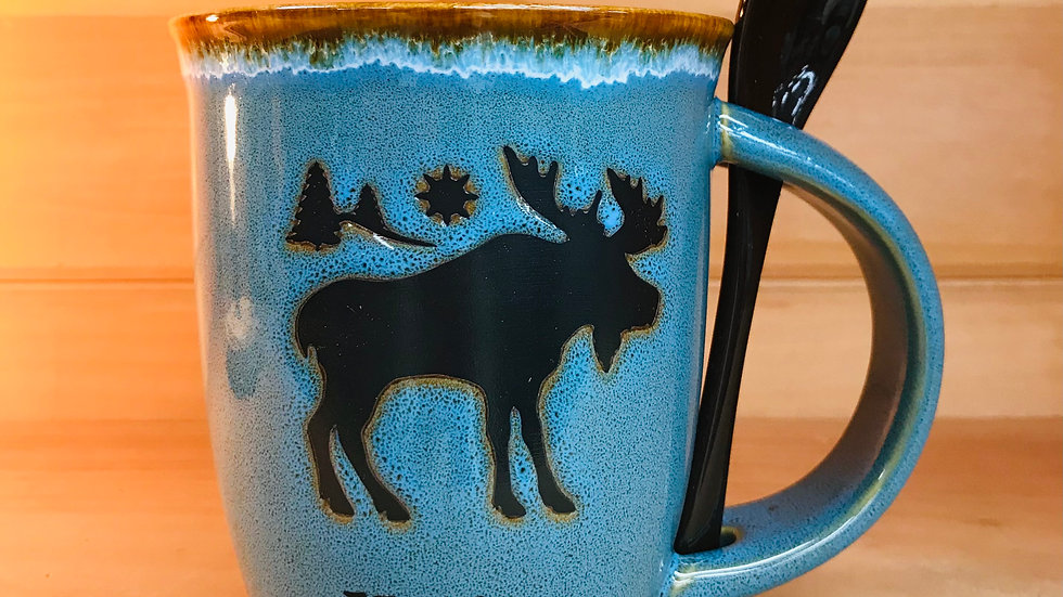 Maine Moose with Spoon