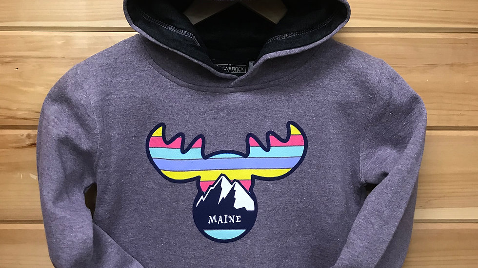 Rainbow Moose Purple