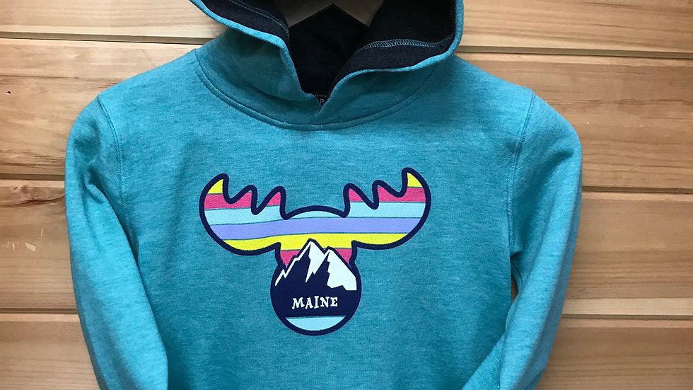 Rainbow Moose Teal