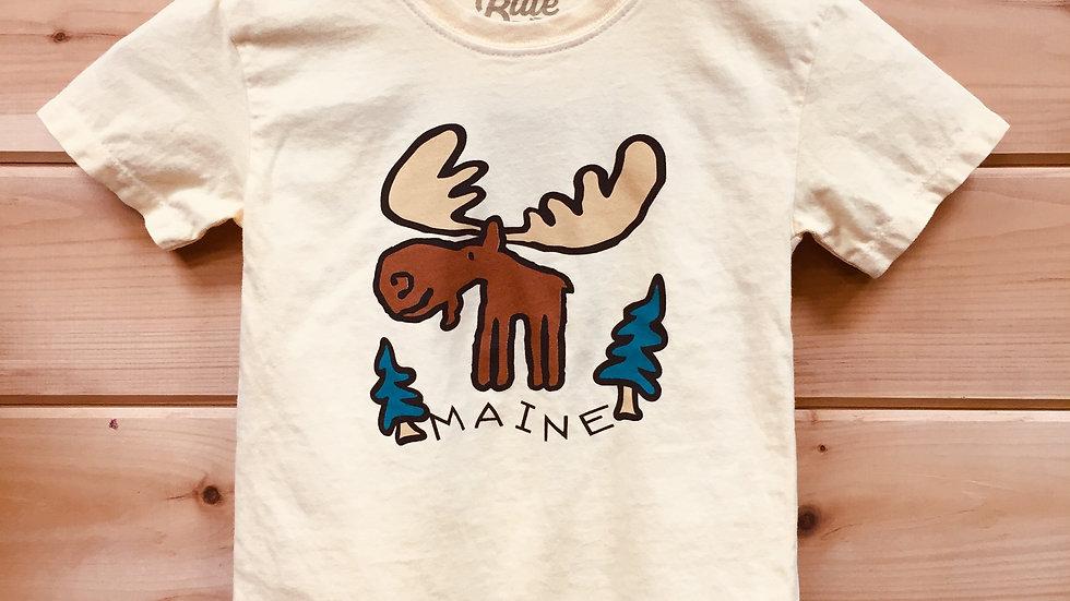Maine Moose Yellow