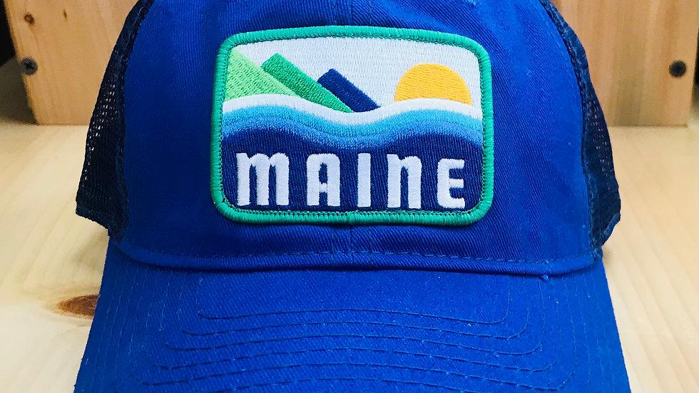 Maine Patch Trucker