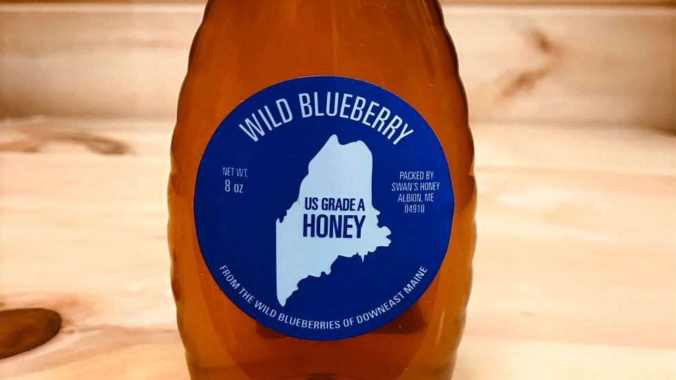 Wild Blueberry Honey