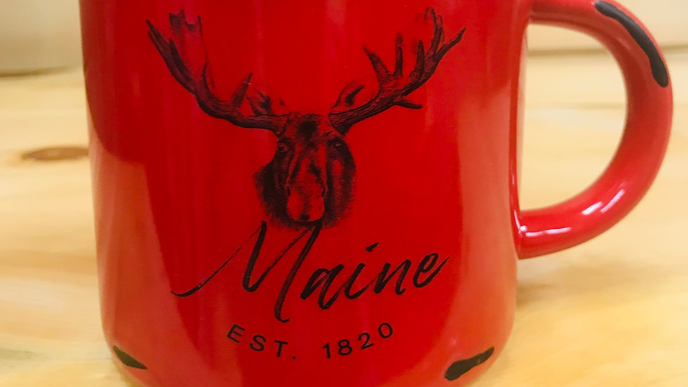 Maine Est.1820 Red