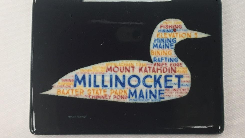 Millinocket Loon Magnet