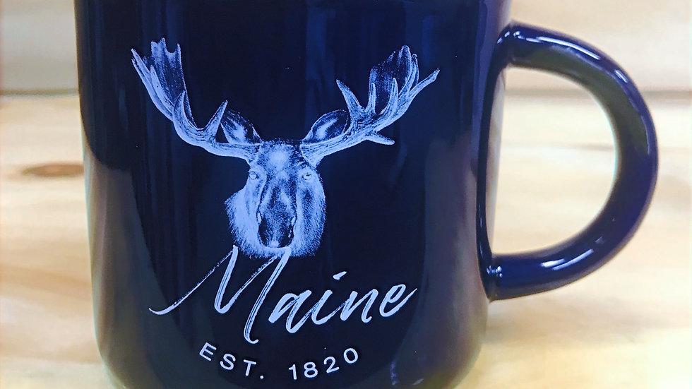 Maine Est.1820 Blue