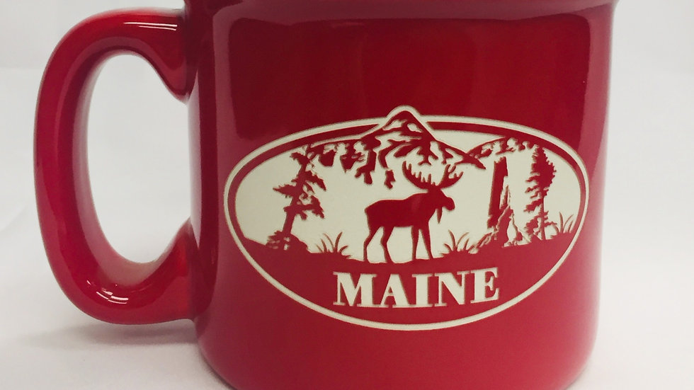 Maine Moose Red