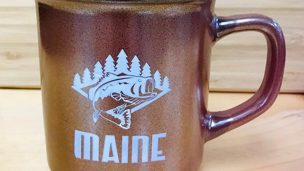 Fish Maine Green