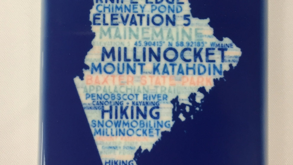 Millinocket Maine Adventure Magnet