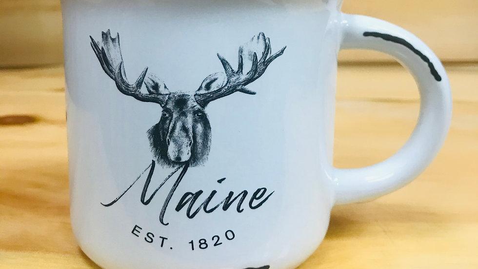 Maine Est.1820 White