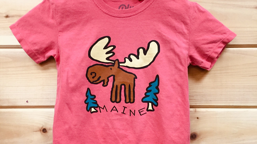 Maine Moose Pink