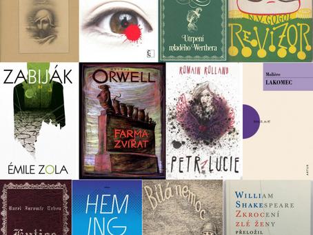 Jak si vybrat správné knížky k ústní maturitní zkoušce z českého jazyka?