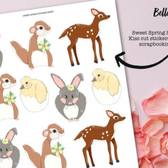 Sweet Spring Stickers