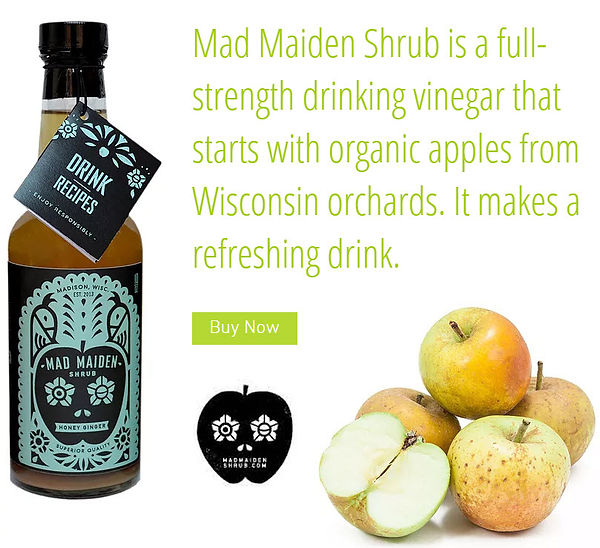 Mad Maiden Shrub Home Page