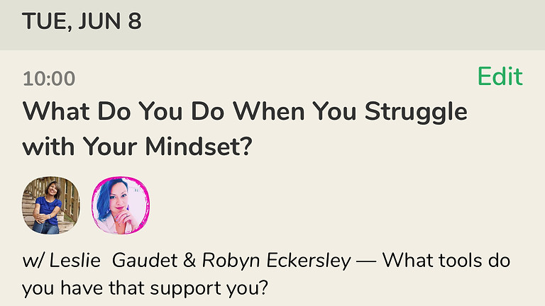 What Do You Do When You Struggle with Your Mindset with Leslie Gaudet
