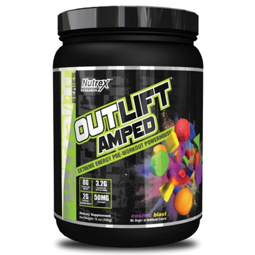 Nutrex Outlift AMPED 444g