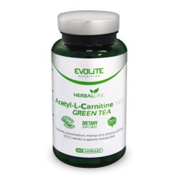 Evolite Acetyl-L-Carnitine + Green Tea 100caps