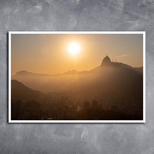 Quadro Panorama Baia de Guanabara RJ
