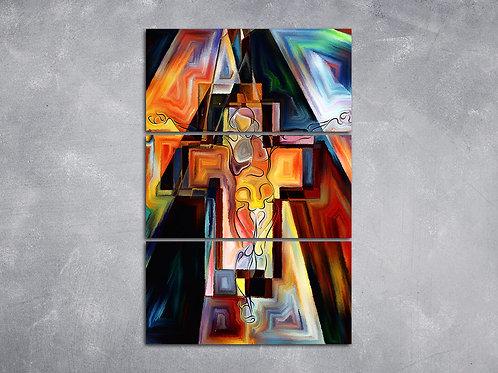 Quadro Jesus na Cruz