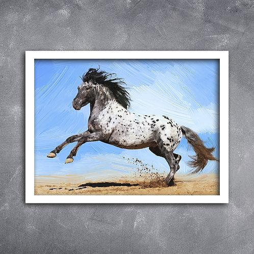 Quadro Cavalo Noriker, Austríaco