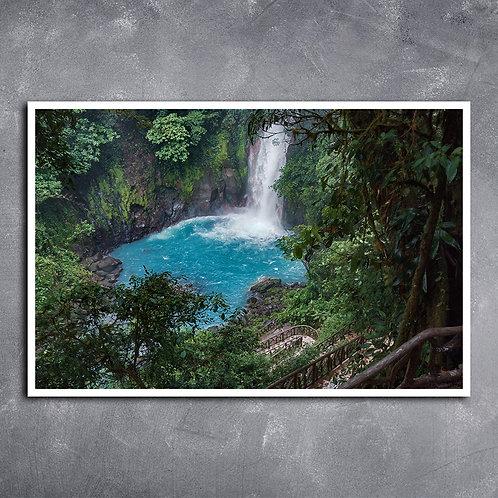 Quadro Rio Celeste Parque Nacional  Costa Rica