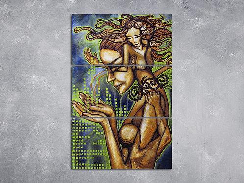 Quadro Mulher Caixa de Pandora