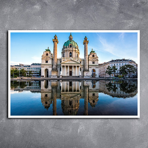 Quadro Catedral Hadsburgo na Áustria